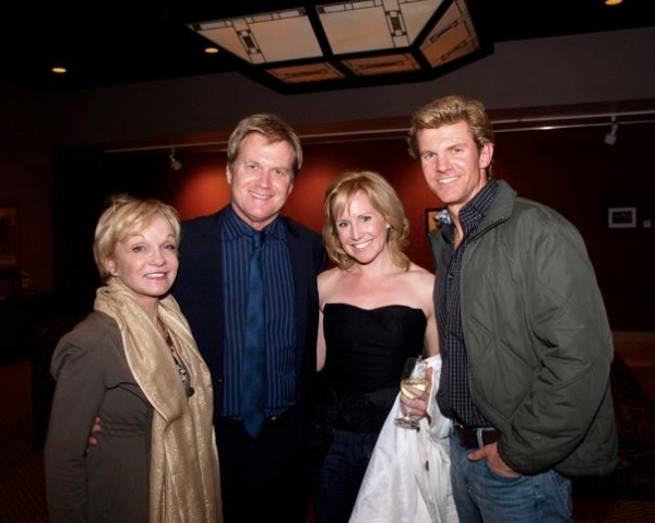 Cathy Rigby, Tom McCoy, Erika Whalen and Brent Schindele Photo