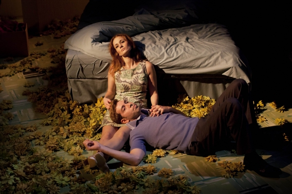 Leanne Rowe and Edward Bennett