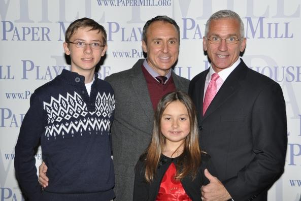 Stephen Hoebee-Elardo, Larry Elardo, Ashley Hoebee-Elardo and Mark S. Hoebee Photo