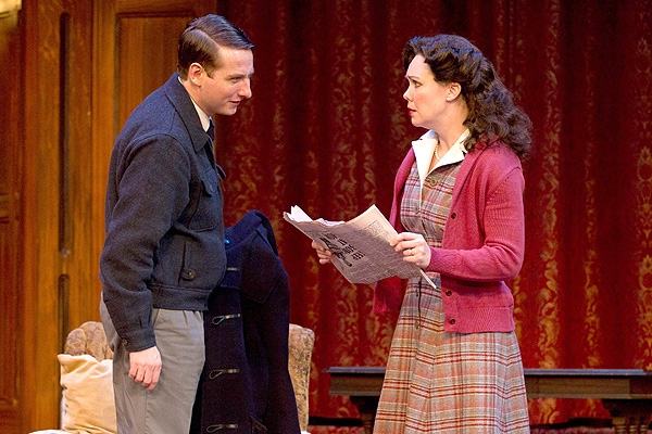 Harry Smith and Jennie Eisenhower at Photo Preview: THE MOUSETRAP At Walnut Street Theater