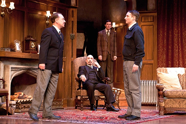 Paul L. Nolan, Laurent Giroux, Dan Hodge and Harry Smith at Photo Preview: THE MOUSETRAP At Walnut Street Theater