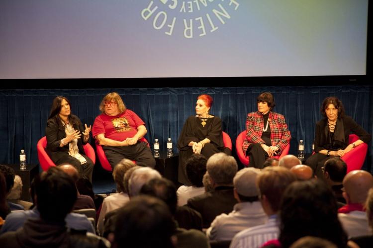 High Res Dori Berinstein, Bruce Vilanch, Carole Cook, JoAnne Worley & Lily Tomlin