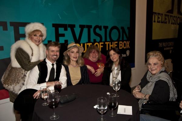 Ruta Lee, B. Harlan Boll, Julie Newmar, Bruce Vilanch, Dori Berinstein & Rose Marie