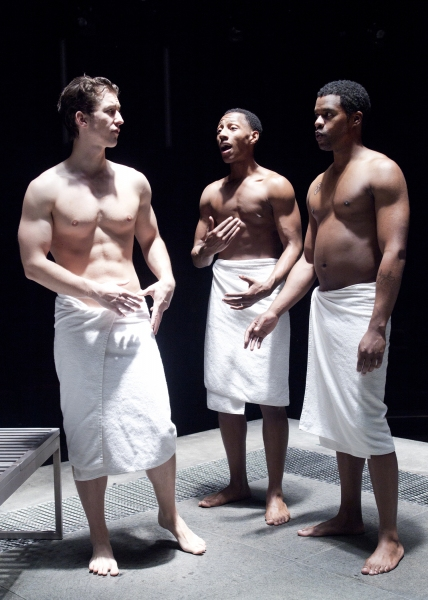 Evan Todd as Aaron, Brandon Gill as Iskinder and Jimonn Cole as Dwight