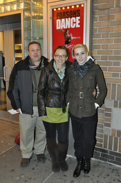 Mike Abate, Caitlin Taylor and Maria Triano