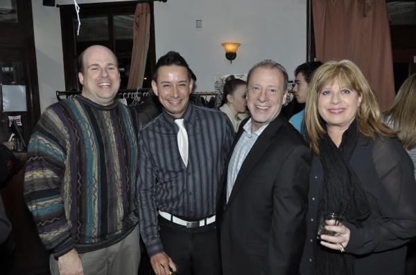 Travis Fritsche, David Garcia, Tom Pelliteri, Lisa Pelliteri Photo
