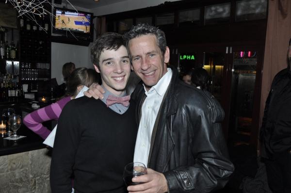 Corey Snide, Scott Jovovich at NYCDAF's Destiny Rising Benefit