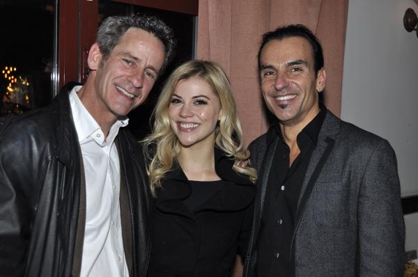 Scott Jovovich, Lauren Adams and Joe Lanteri Photo