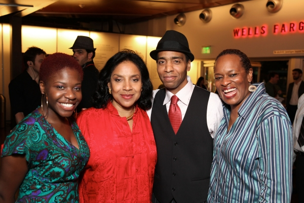 Kenya Alexander, Phylicia Rashad, Kevin T. Carroll and Kim Staunton