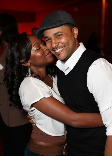 Naturi Naughton and Jason Dirden