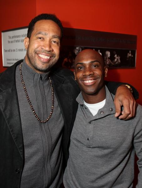 CULVER CITY, CA - JANUARY 22: John Marshall Jones (L) and cast member Amad Jackson (R Photo