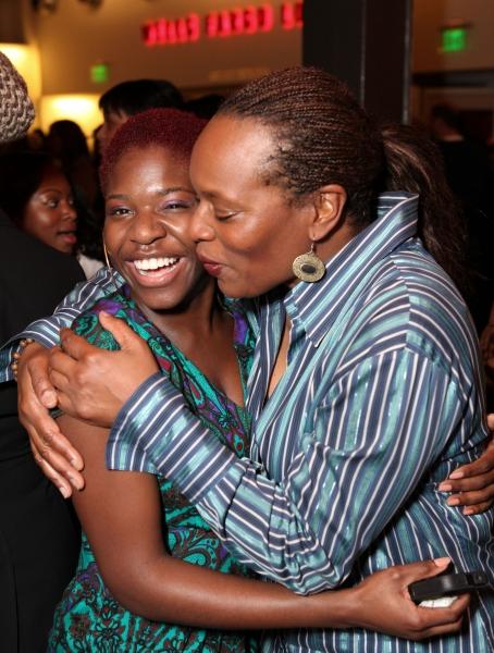 Kenya Alexander and Kim Staunton at A RAISIN IN THE SUN Opens at CTG/Kirk Douglas Theatre