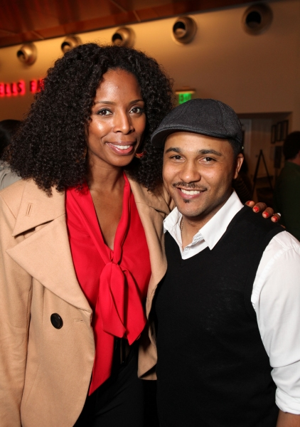 Tasha Smith and Jason Dirden