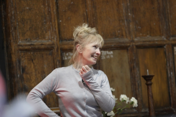 Photo Coverage: HAY FEVER Rehearsal Shots