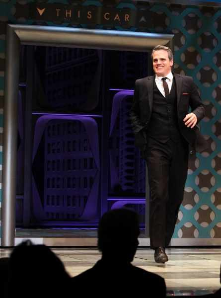 Michael Park  at Nick Jonas & Michael Urie Take Premiere Bow in HOW TO SUCCEED IN BUSINESS WITHOUT REALLY TRYING!
