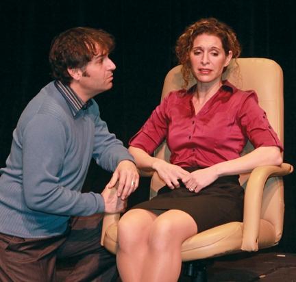 Mark Sanders and Jodie Langel Photo