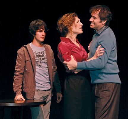 Eddy Rioseco, Mark Sanders and Jodie Langel Photo