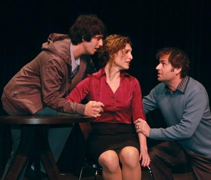 Eddy Rioseco, Mark Sanders and Jodie Langel