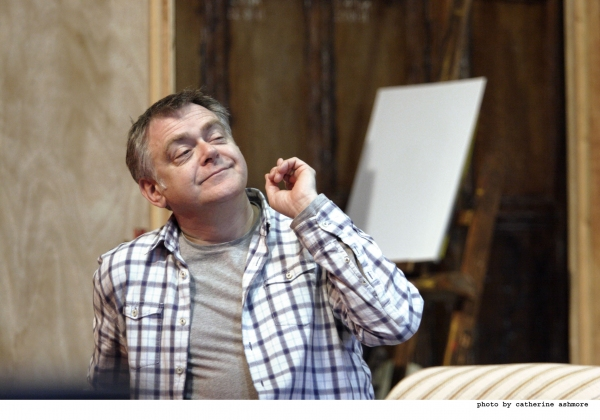 Photo Flash: HAY FEVER In Rehearsal at the Noel Coward Theatre