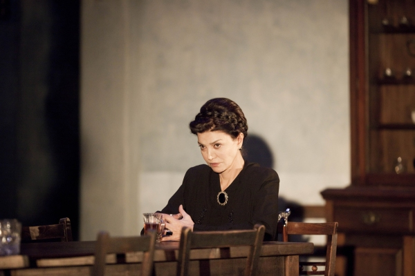 Shohreh Agdashloo at THE HOUSE OF BERNARDA ALBA At Almeida Theatre