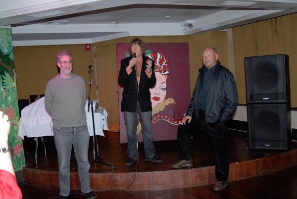 Steve Margoshes, James Rado, Ted Rado Photo