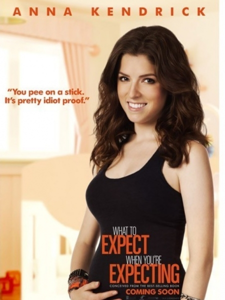 Anna Kendrick at Posters Revealed for WHAT TO EXPECT WHEN YOU'RE EXPECTING