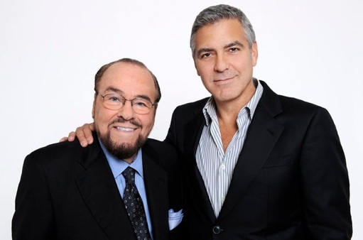 James Lipton & George Clooney at First Look - George Clooney on Bravo's INSIDE THE ACTOR'S STUDIO, 1/31