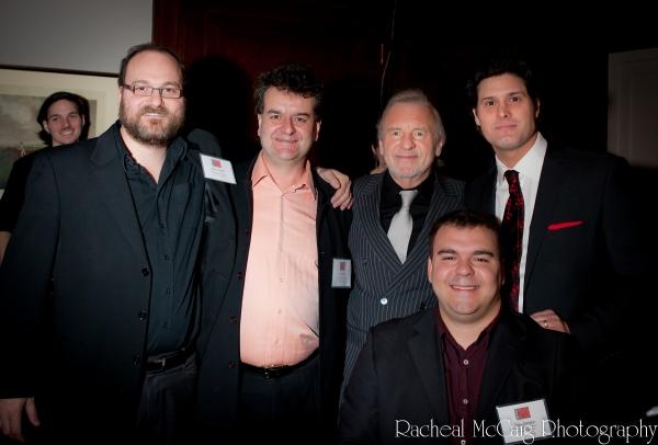 Jason Jestadt, Bob Foster, Colm Wilkinson, Adam Brazier and Scott Christian