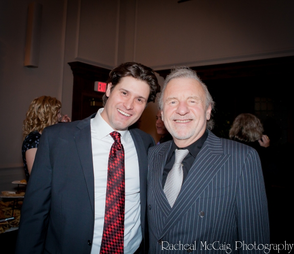 Adam Brazier and Colm Wilkinson