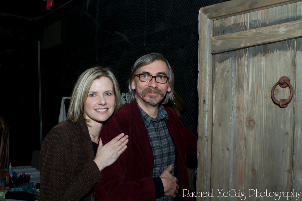 Melanie Doane and John Tams