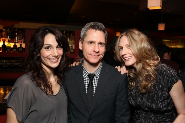 Annie Parisse, Playwright Bruce Norris and cast member Christina Kirk