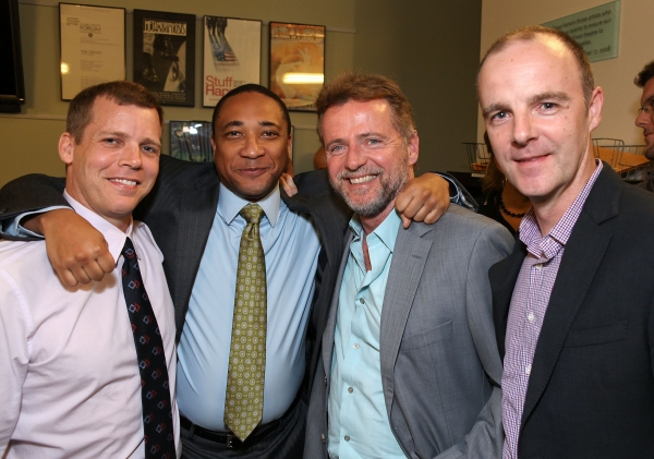 Tim Griffin, cast member Damon Gupton, actor Aidan Quinn and actor Brian F. O'Byrne