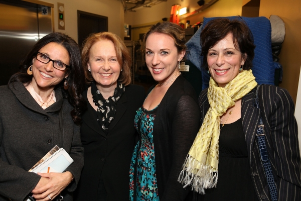 Actresses Julia Louis-Dreyfus, Kate Burton, Danielle Thorpe and Jane Kaczmarek