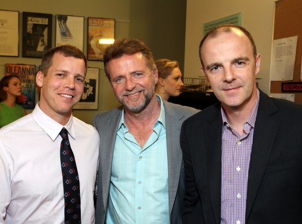 Tim Griffin, Aidan Quinn and Brian F. O'Byrne