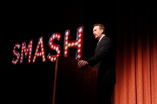 Robert Greenblatt at Last Night's World Premiere of NBC's SMASH