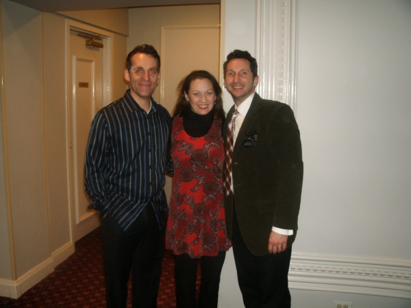 Andrew Lupp, Tammy Mader, Ben Johnson at Opening Night of GYPSY at Drury Lane Theatre