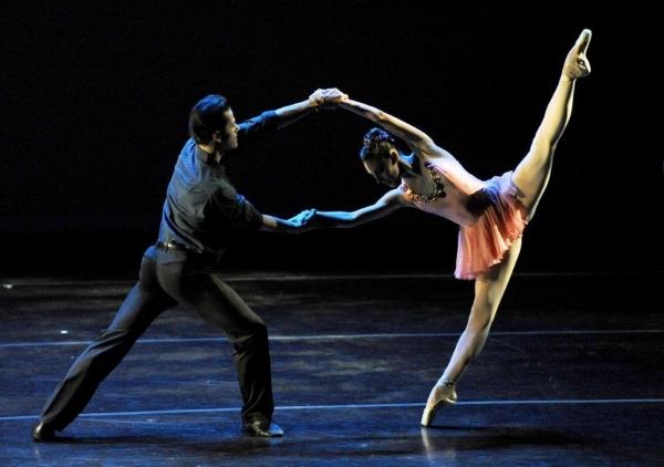New York City Ballet's Robert Fairchild & Tiler Peck