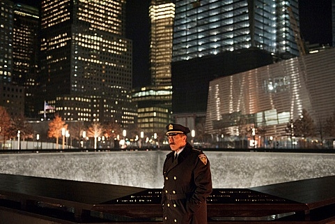 Tom Selleck at CBS's BLUE BLOODS Marks First Scripted Drama to Shoot at NY's 9/11 Memorial, 2/3