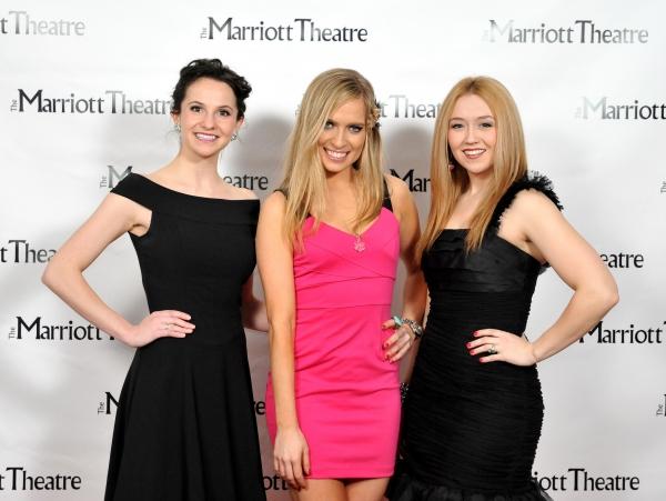 Amanda Tanguay, Leslie Taylor and Laura Savage