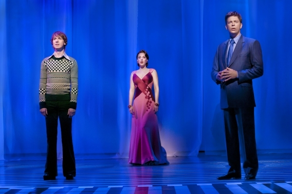 David Turner, Jessie Muller and Harry Connick Jr.