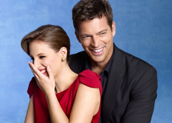 Jessie Mueller and Harry Connick Jr. in a promotional shot for the show.