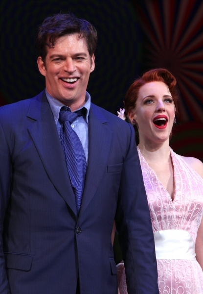 Harry Connick Jr. and Jessie Mueller on opening night.