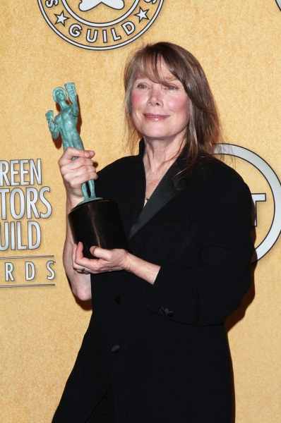 Sissy Spacek pictured at the 18th Annual Screen Actors Guild Awards - Press Room held at the Shrine Auditorium and Exposition Center in Los Angeles, CA on January 29, 2012 © RD / Orchon / Retna Digital