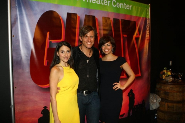 Natalie Cortez, Pj Griffith and Isabel Santiago at Dallas Theatre Center Celebrates Opening Night of GIANT