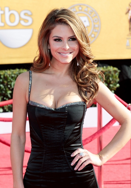 Maria Menounos pictured at the 18th Annual Screen Actors Guild Awards - arrivals held at the Shrine Auditorium and Exposition Center in Los Angeles, CA on January 29, 2012 © RD / Orchon / Retna Digital