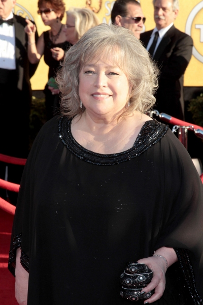 Kathy Bates pictured at the 18th Annual Screen Actors Guild Awards - arrivals held at the Shrine Auditorium and Exposition Center in Los Angeles, CA on January 29, 2012 © RD / Orchon / Retna Digital