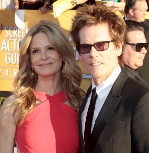 Kevin Bacon; Kyra Sedgwick pictured at the 18th Annual Screen Actors Guild Awards - arrivals held at the Shrine Auditorium and Exposition Center in Los Angeles, CA on January 29, 2012 © RD / Orchon / Retna Digital