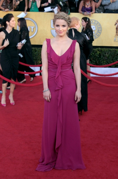 Photo Coverage: Viola Davis, GLEE & More on the SAG Red Carpet!