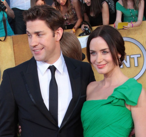 John Krasinski and Emily Blunt
