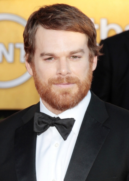 Michael C. Hall pictured at the 18th Annual Screen Actors Guild Awards - arrivals held at the Shrine Auditorium and Exposition Center in Los Angeles, CA on January 29, 2012 © RD / Orchon / Retna Digital at Viola Davis, GLEE & More on the SAG Red Carpet!